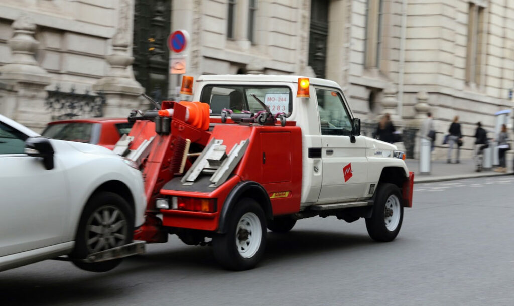 Types of Vehicle Towing Services
