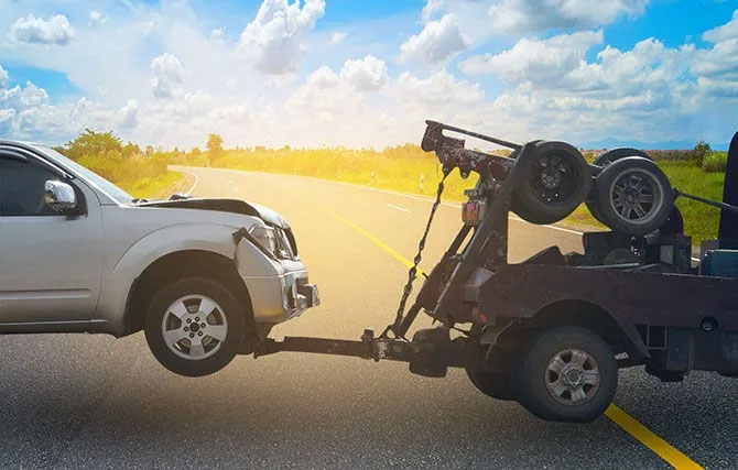 Can my car be damaged while towing?