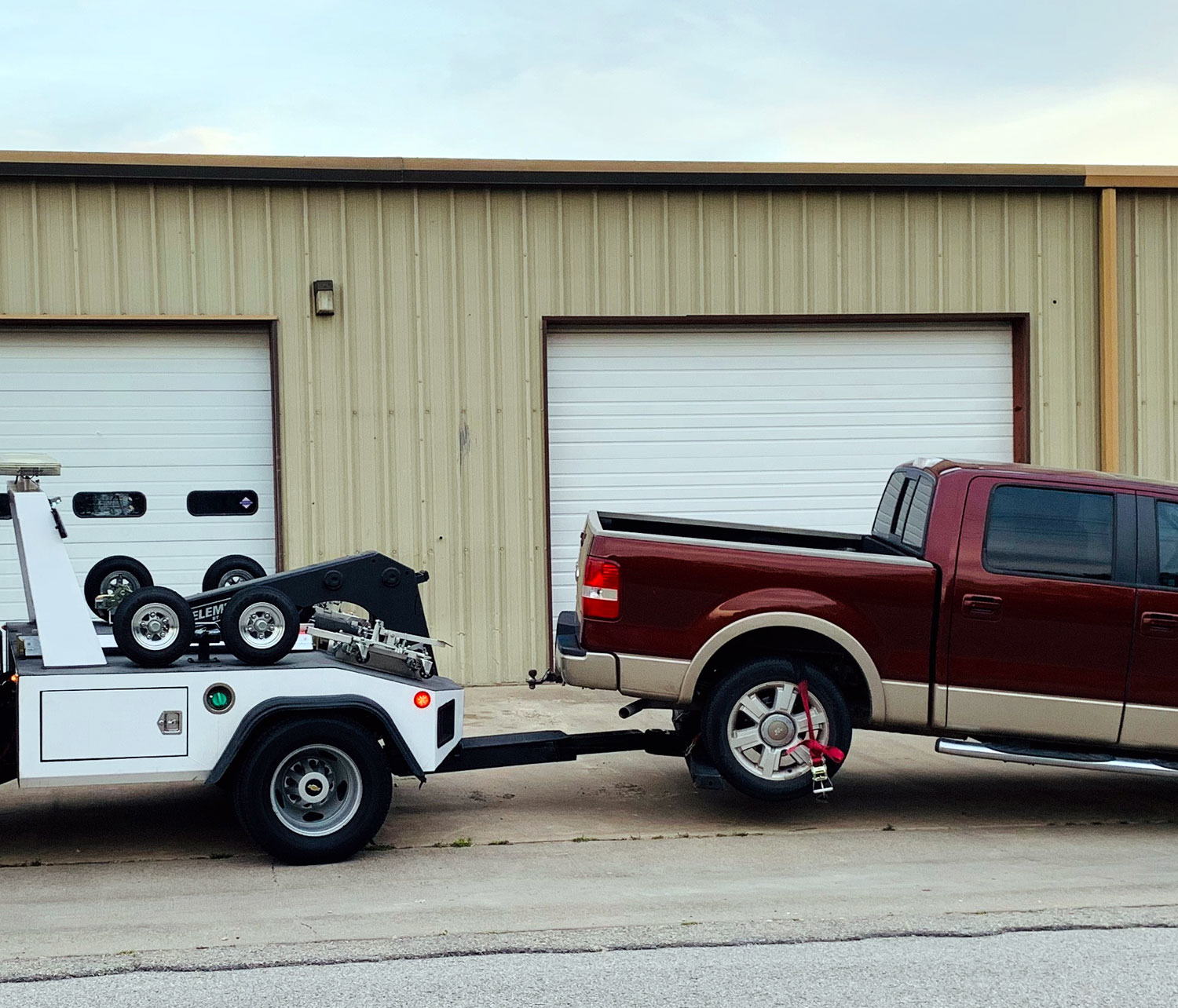 Spn America Low Clearance Towing
