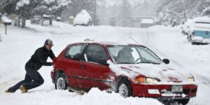 avoid getting vehicle stuck